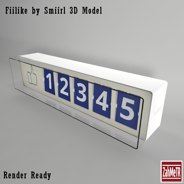 fiilike_by_smiirl_3dss_max_model_3d